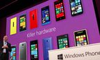 Smartphones Windows Phone ueberholt / Bild: (c) REUTERS ( Robert Galbraith / Reuters)