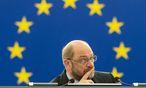Martin Schulz, Präsident des europäischen Parlaments / Bild: APA/EPA/PATRICK SEEGER