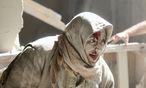 Eine Frau nach einem Luftangriff im Ostteil von Aleppo. Die Bombardements trafen auch Spitäler.  / Bild: REUTERS