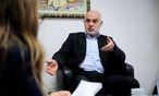 Ednan Aslan sagt, dass der Islam in Österreich nicht mehr aus dem Ausland gesteuert werden dürfe.  / Bild: Clemens Fabry/Die Presse