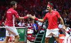 Stanislas Wawrinka und Roger Federer / Bild: GEPA pictures