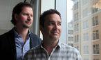 Ashley Madisons CEO Rob Segal (rechts) und Präsident James Millership / Bild: REUTERS