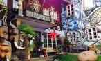 Sammelleidenschaft, Kunstwille und urige Küche kommen am Kleinsasserhof bei Spittal an der Drau zusammen / Bild: (c) Georg Weindl