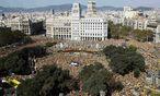 Riesige Demonstration in Barcelona / Bild: (c) REUTERS (ALBERT GEA)