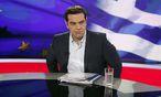 Der griechische Ministerpräsident Alexis Tsipras / Bild: APA/EPA/ALEXANDROS VLACHOS