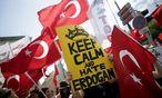 Archivbild: ANtio-Erdogan-Demo am 19. Juni in Wien / Bild: APA/GEORG HOCHMUTH