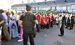 Sicherheitskräfte in Lourdes / Bild: (c) APA/AFP (PASCAL PAVANI)