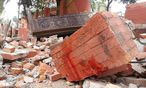 Eingestürztes Gebäude in Kathmandu / Bild: imago/Xinhua