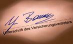 Versicherungsvertrag / Bild: Bilderbox