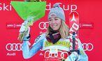Mikaela Shiffrin feiert ihren Sieg in Aspen / Bild: GEPA pictures