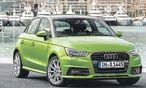 Endlich wieder Farbe! Mit der neuen A1-Generation lanciert Audi auch frische Couleurs – vielleicht schafft Grün ein Comeback. / Bild: (c) Werk