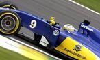 Sauber-Auto / Bild: APA/EPA/FERNANDO BIZERRA JR