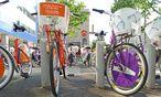Furcht vor Transdanubien? Citybike-Station, Leopoldstadt. / Bild: (c) Wolfgang Freitag