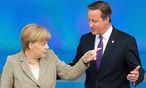 Merkel und Cameron / Bild: APA/EPA/MAURIZIO GAMBARINI