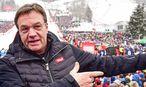 Archivbild: Günther Platter beim Hahnenkammrennen im Jänner / Bild: GEPA pictures