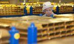 """Die Heimreise der """"goldenen Reserve"""" / Bild: REUTERS"""