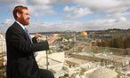 Jehuda Glick reklamierte mit Feuereifer den Anspruch Israels auf den Felsendom. Bei einem Attentat trug er schwere Verletzungen davon. / Bild: (c) APA/EPA/MIRI TSACHI (MIRI TSACHI)