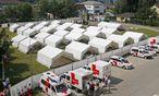 ASYL-NOTQUARTIER IN DER EHEMALIGEN POLIZEIKASERNE IN KRUMPENDORF / Bild: (c) APA/GERT EGGENBERGER (GERT EGGENBERGER)