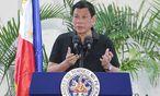 Der philippinische Präsident verfolgt eine brutale Politik gegen Drogensüchtige. / Bild: APA/AFP/MANMAN DEJETO