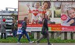 Kampagne für ein Auslaufmodell: Wien Landstraße. / Bild: (c) Die Presse (Wolfgang Freitag)