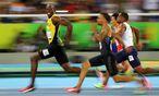 Archivbild: Bolt im 100-Meter-Semifinale bei den Olympischen Spielen von Rio vergangenen Sommer / Bild: REUTERS