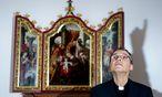 Es dürfte wieder aufwärts gehen für den aus Limburg abgesetzten Bischof Franz-Peter Tebartz-van Elst. / Bild: (c) EPA