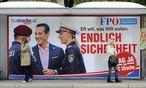 FPÖ-Plakat aus dem Jahr 2010 / Bild: APA/ROLAND SCHLAGER