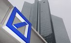 A Deutsche Bank logo is pictured in front of the Deutsche Bank headquarters in Frankfurt / Bild: REUTERS