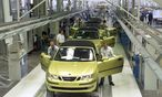 PRODUKTIONSBEGINN SAAB CABRIO BEI MAGNA STEYR / Bild: APA