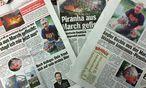 Großes Medienecho um angeblichen Raubfisch-Fang in Niederösterreich / Bild: (c) Die Presse