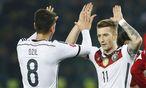 Mesut Özil und Marco Reus / Bild: REUTERS