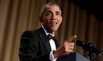US-Präsident Barack Obama beim Dinner der White-House-Presse. / Bild: REUTERS