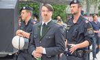 Ein Demonstrant bei einer Pegida-Demo in Graz am vergangenen Samstag. / Bild: (c) Peter Palme