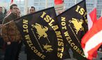 Pegida-Demo in Linz / Bild: APA/EPA/RUBRA