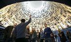 ''Halle der Namen'' im Holocaust-Museum Yad Vashem / Bild: REUTERS