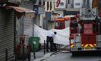 100 Feuerwehrleute waren im Einsatz. / Bild: APA/EPA/YOAN VALAT