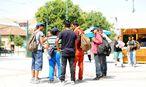 Flüchtlinge in Ungarn / Bild: Die Presse