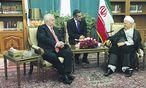 Häupl traf auch Ayatollah Ali Akbar Hashemi Rafsanjani / Bild: (c) Stadt Wien