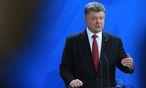 Petro Poroschenko / Bild: Bloomberg