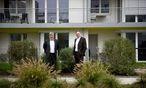 Klaus Baringer (l.) und Ewald Kirschner managen einen der größten Bauträger Österreichs. Die Gesiba gehört zu 99,97 Prozent der Stadt Wien. / Bild: (c) Clemens Fabry