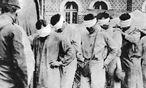 Verwundete nach einem Giftgaseinsatz im Ersten Weltkrieg  / Bild: (c) imago
