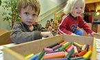 Symbolbild Kindergarten. / Bild: APA/HERBERT NEUBAUER