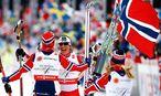 Norwegische Staffel / Bild: REUTERS
