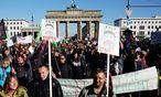 Demonstration gegen TTIP in Berlin / Bild: AFP