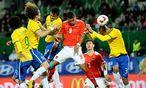 Österreich gegen Brasilien / Bild: APA/EPA/STF