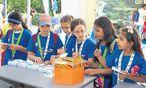 Rund 4000 Kinder studieren im Sommer an der Kinderuni der Uni Wien. Angeboten wurden auch Vorlesungen auf Arabisch. / Bild: (c) Kinderbüro der Uni Wien