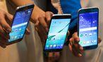 Samsung kündigt Wartezeiten bei neuem S6 an / Bild: Bloomberg