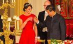 Herzogin Kate mit Chinas Präsidenten Xi Jinping / Bild: AFP