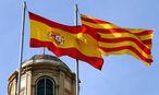 Fahnen Spaniens und Kataloniens / Bild: (c) BilderBox