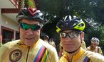 : Eddy Merckx (links) kommt wieder ins Salzkammergut (rechts: Benedikt Kommenda) / Bild: (c) Benedikt Kommenda
